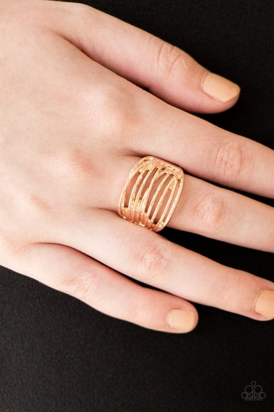 Give Me Space Rose Gold Ring