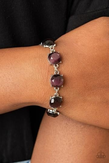 Ms. GLOW-It-All Purple Bracelet