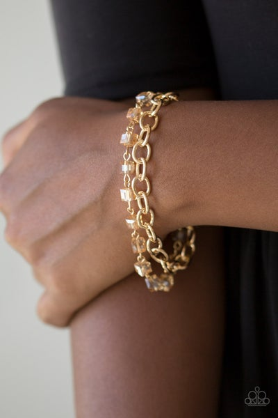 Life of the Block Party Gold Bracelet