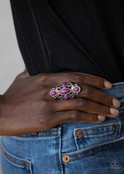 Sahara Sweetheart Purple Ring