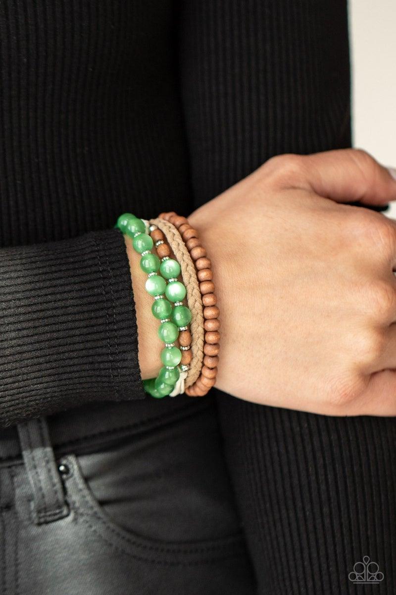 Down HOMESPUN Green Urban Bracelet
