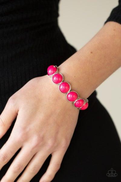 POP, Drop, and Roll - Pink Bracelet