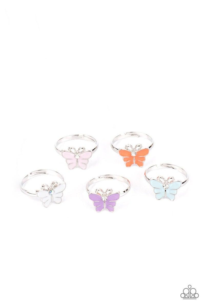 Butterfly Ring Set - Starlet Shimmer