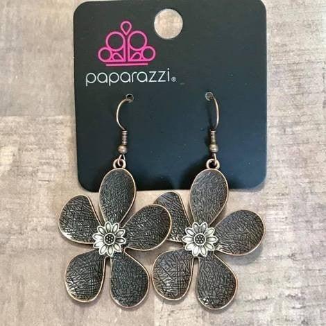 Fresh Florals Copper Earring