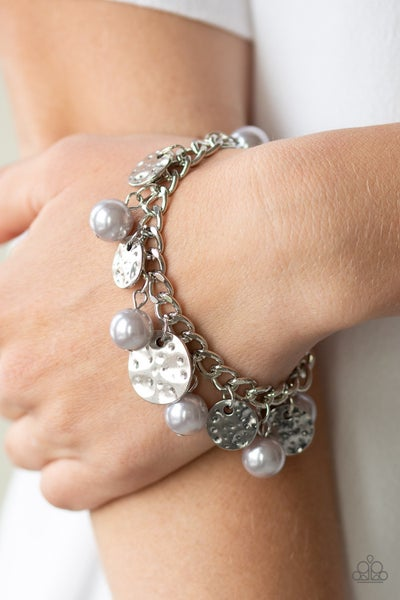 SEA In A New Light Silver Pearl Bracelet