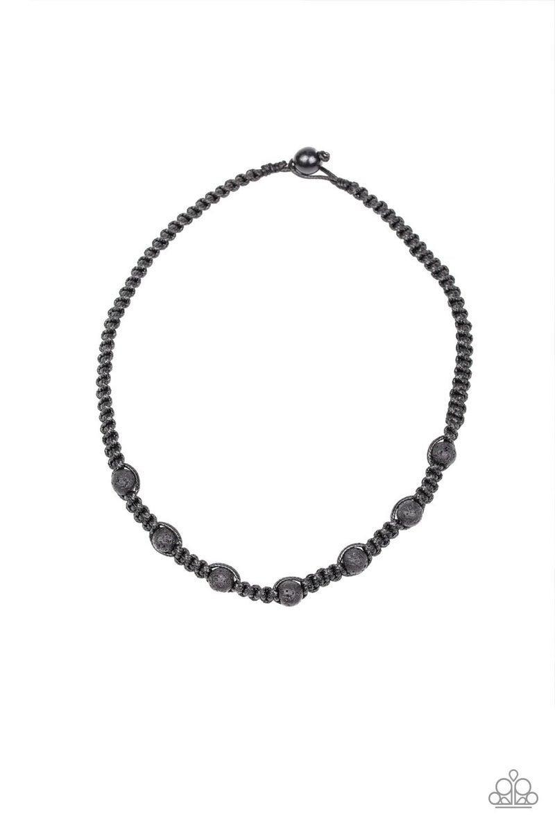 Rock Art Black Urban Necklace