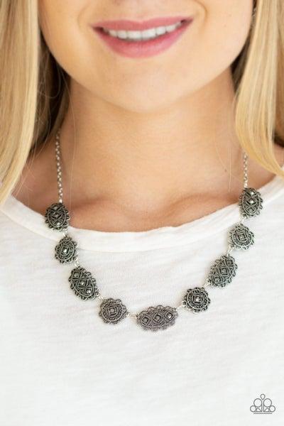 Vintage Vogue Silver Necklace