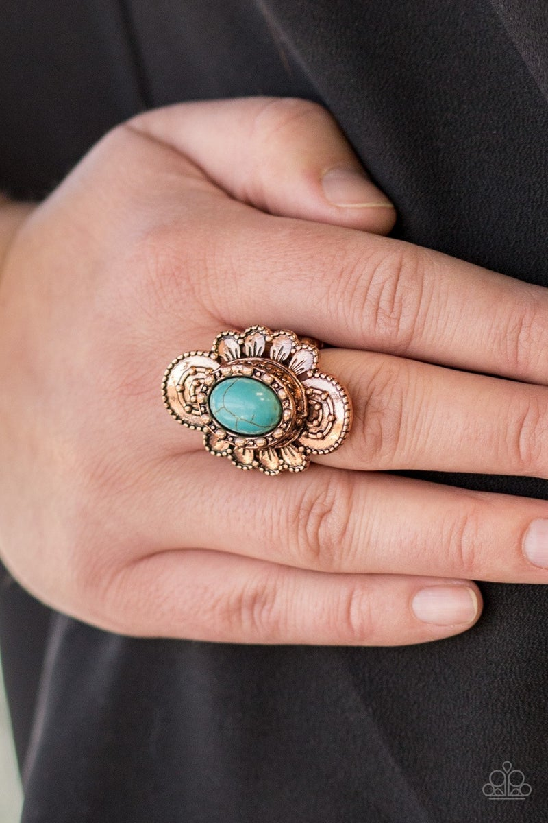 Basic Element Copper Ring - PREORDER