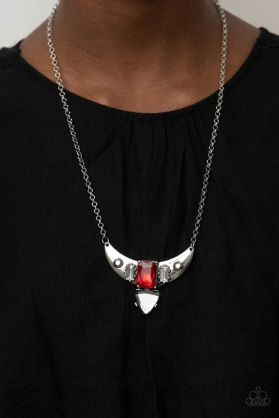 You the TALISMAN! - Red Necklace - PREORDER