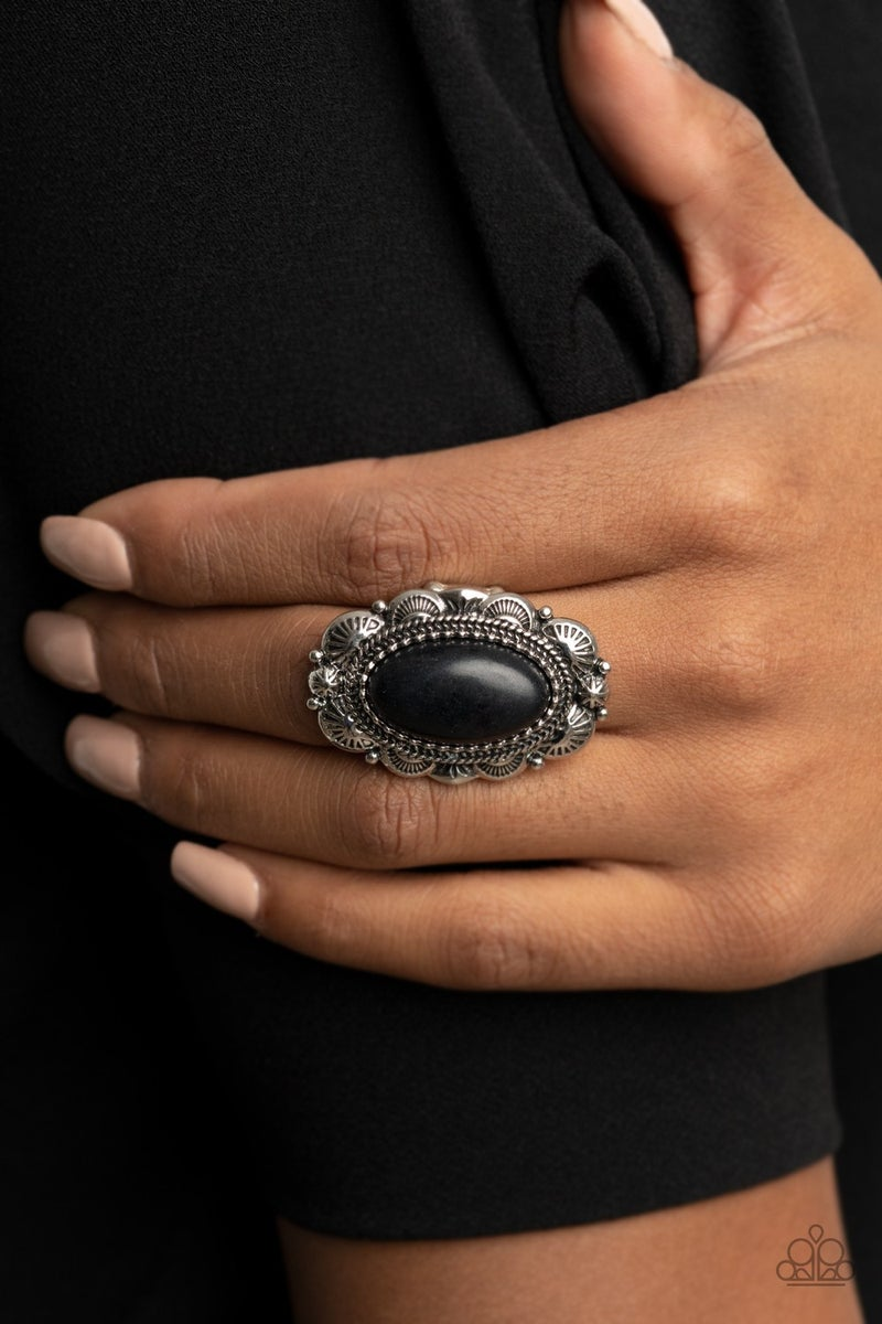 Bring Down the RANCH House Black Ring - Sparkle with Suzanna