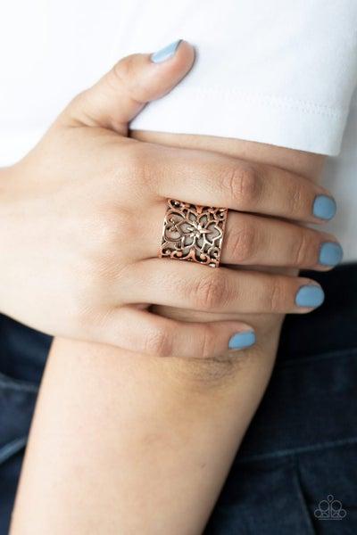 Guru Garden Copper Ring