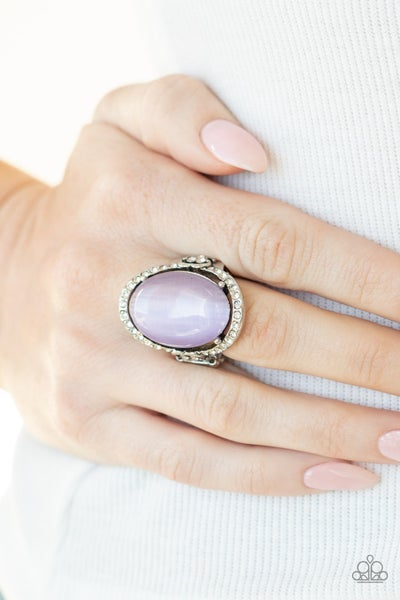 Happily Ever Enchanted Purple Ring
