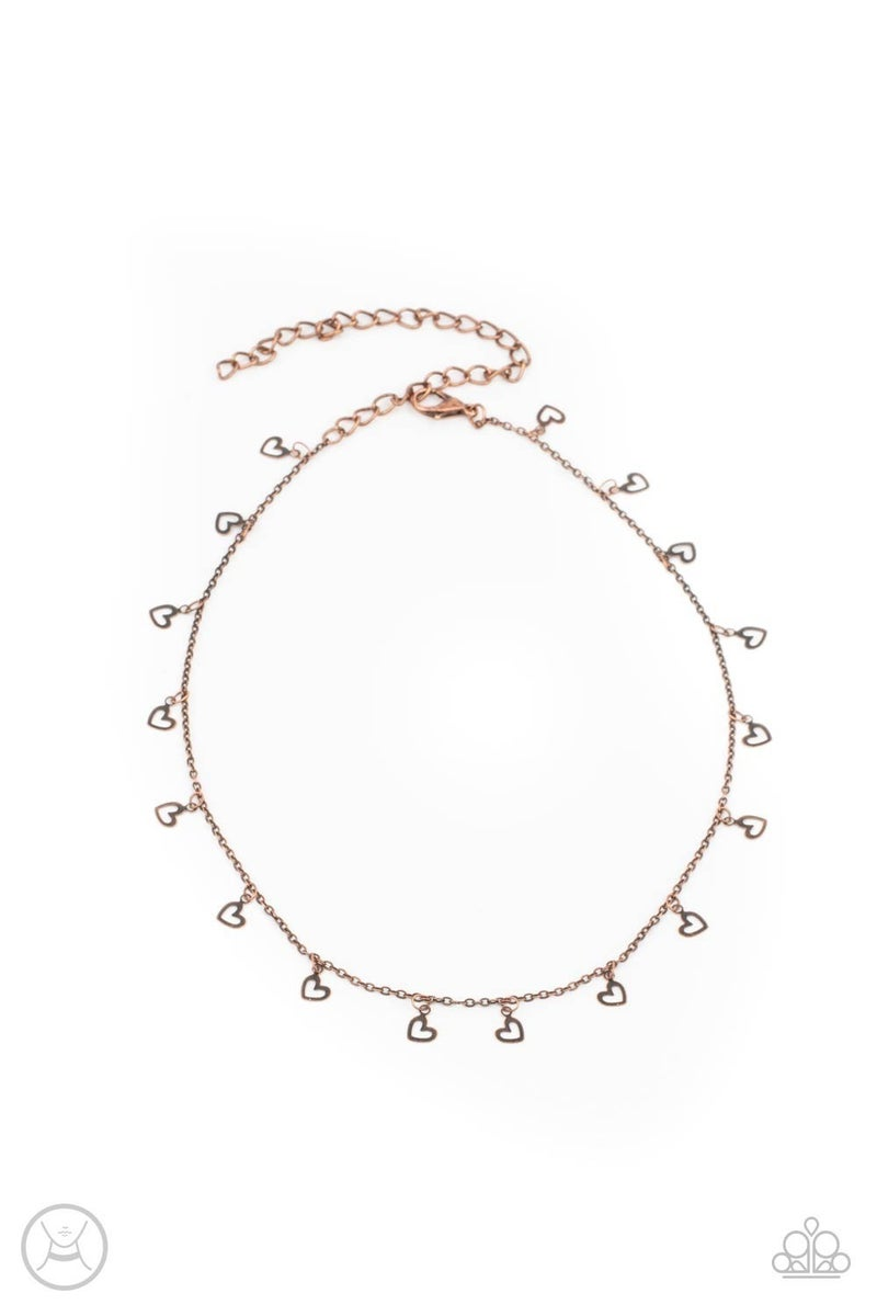 Charismatically Cupid Copper Necklace - PREORDER