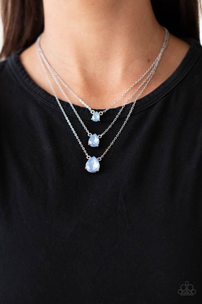 Dewy Drizzle Blue Necklace - PREORDER