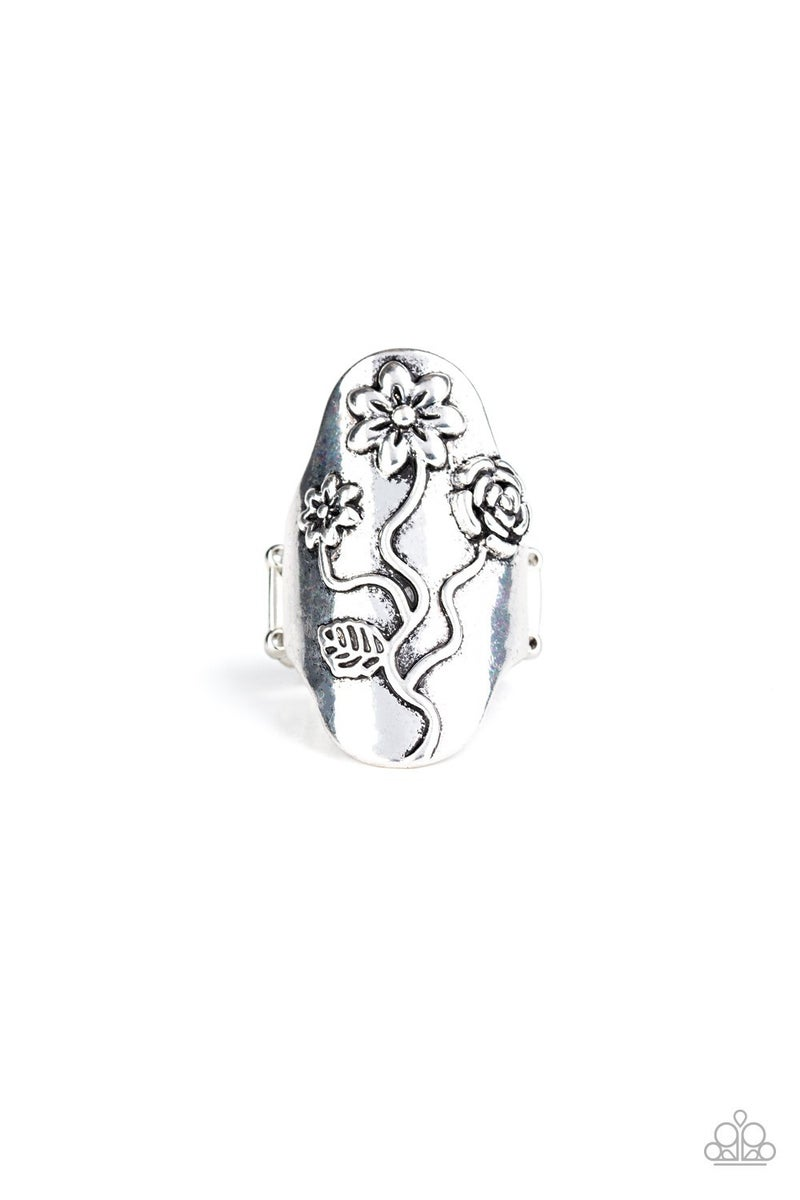 Garden Soul Silver Ring - sparkle with Suzanna
