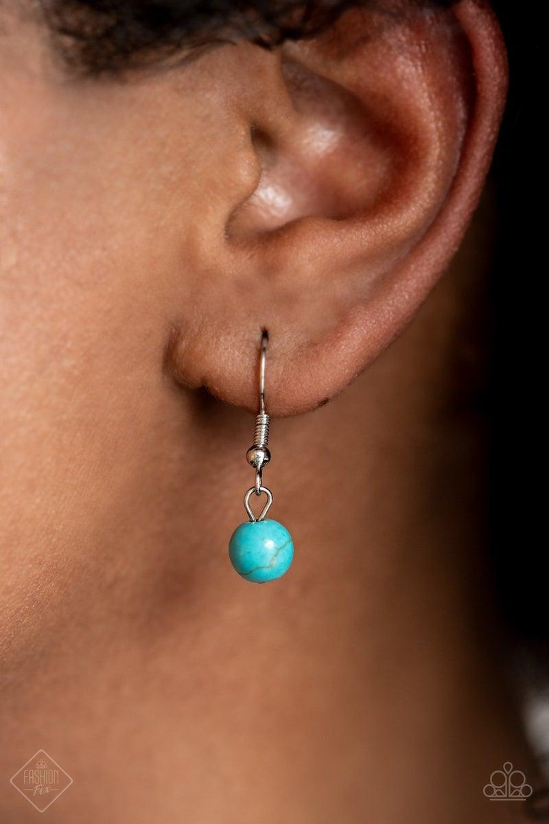 Prairie Reserve Blue Necklace - Fashion Fix