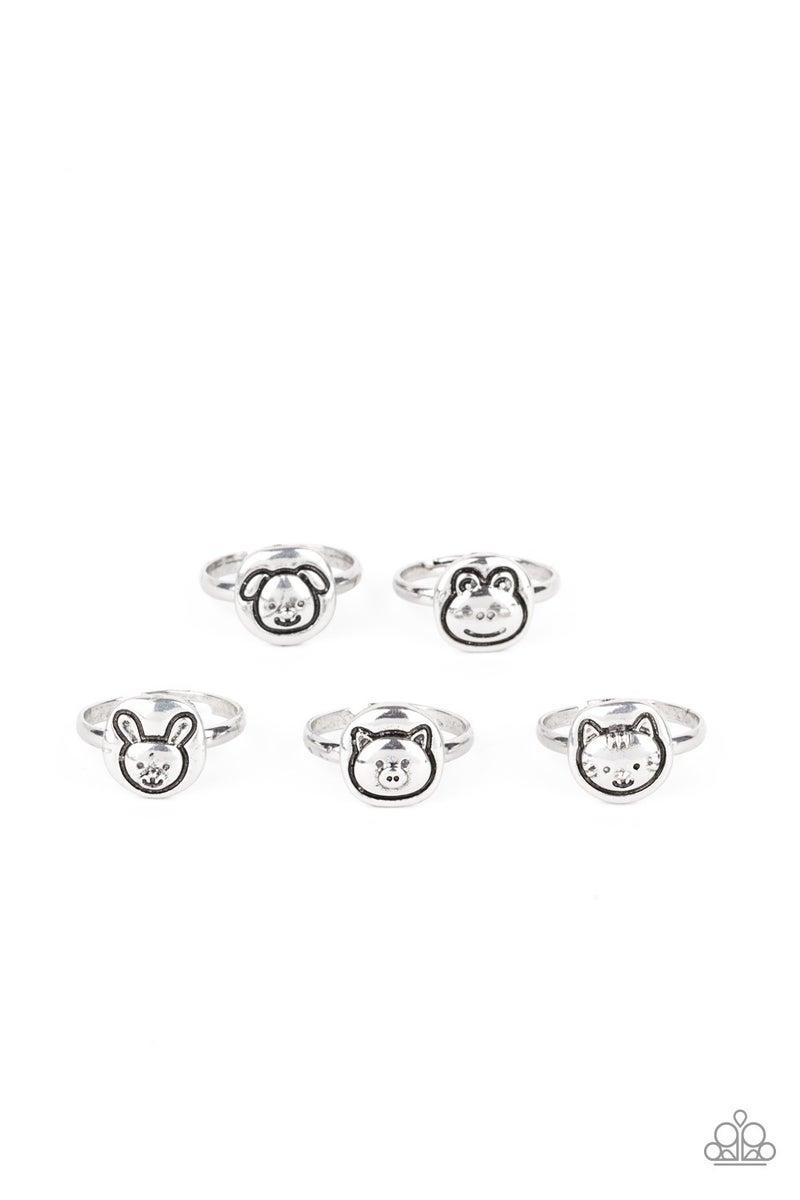 Starlet Shimmer Animal Rings 5 Pack - PREORDER