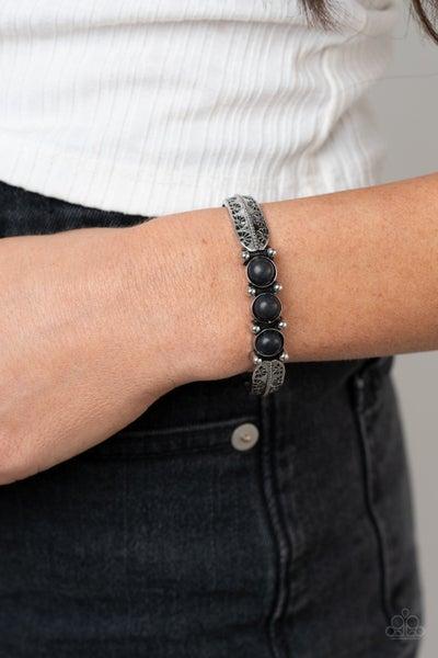 Mojave Glyphs Black Bracelet