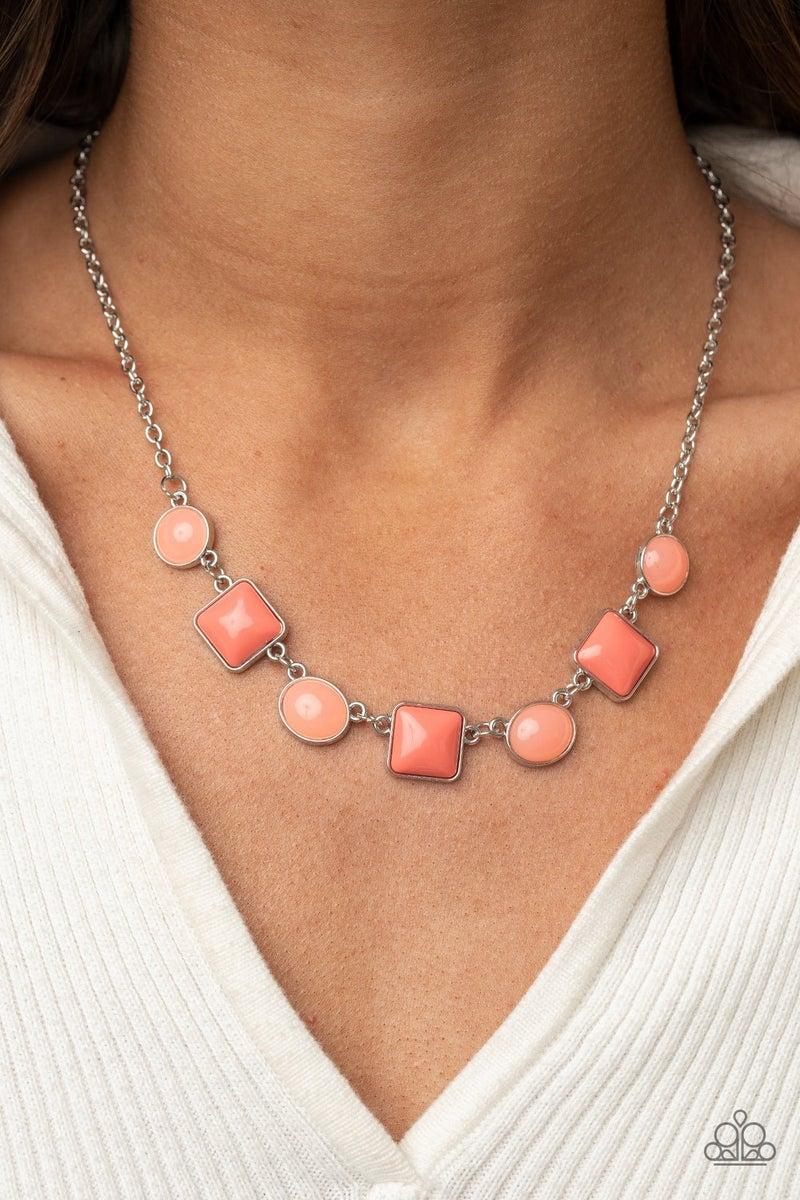 Trend Worthy Orange Necklace - PREORDER