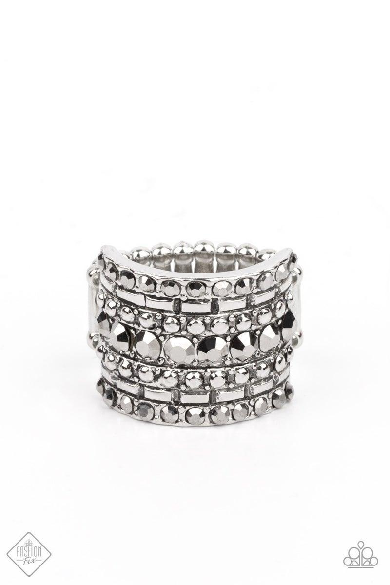 Target Locked Silver Ring
