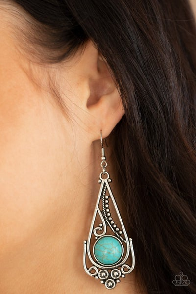 Canyon Climate Blue Earring