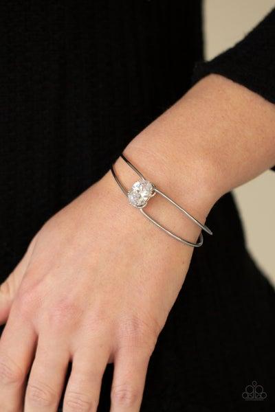 GLOW No Mercy White Bracelet - Sparkle with Suzanna