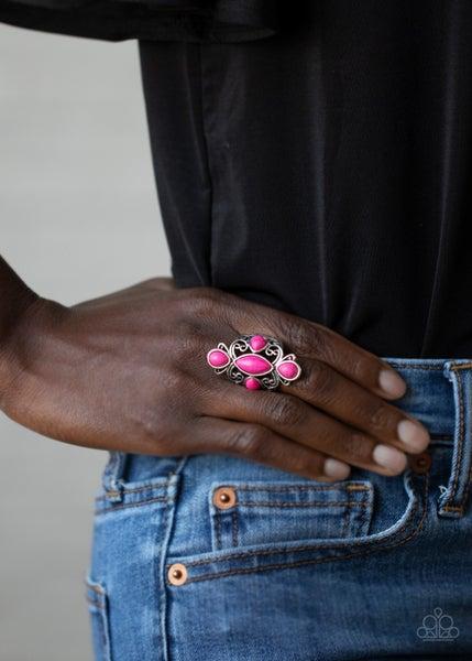 Sahara Sweetheart Pink Ring