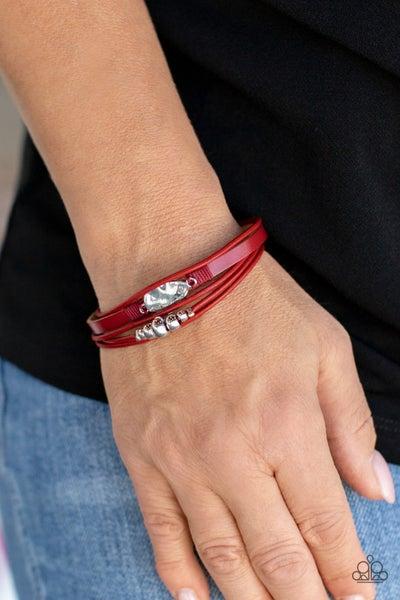 Tahoe Tourist Red Bracelet