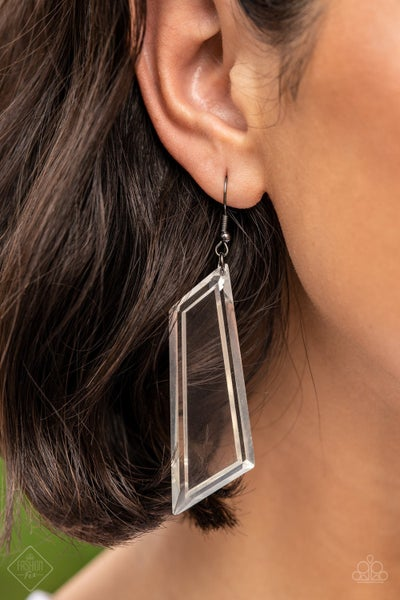 The Final Cut Black Earring - PREORDER August FF