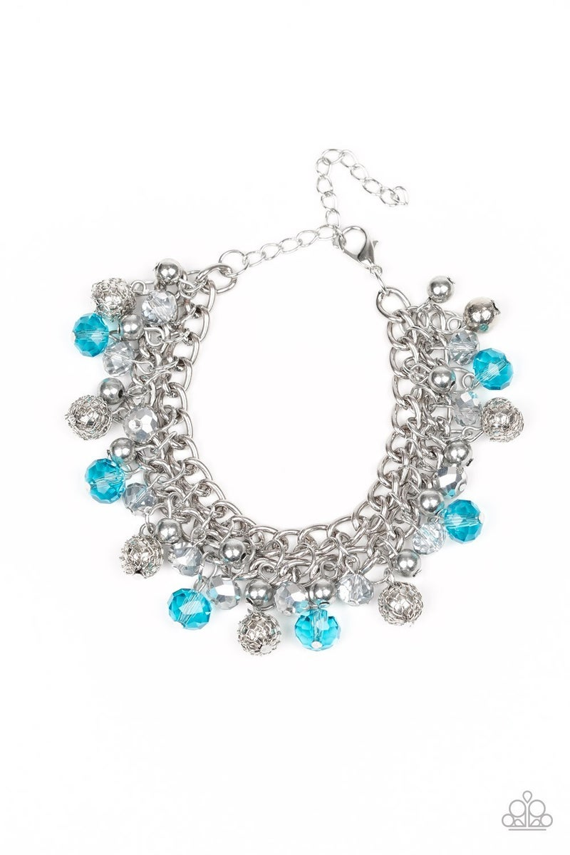 The Party Planner Blue Bracelet