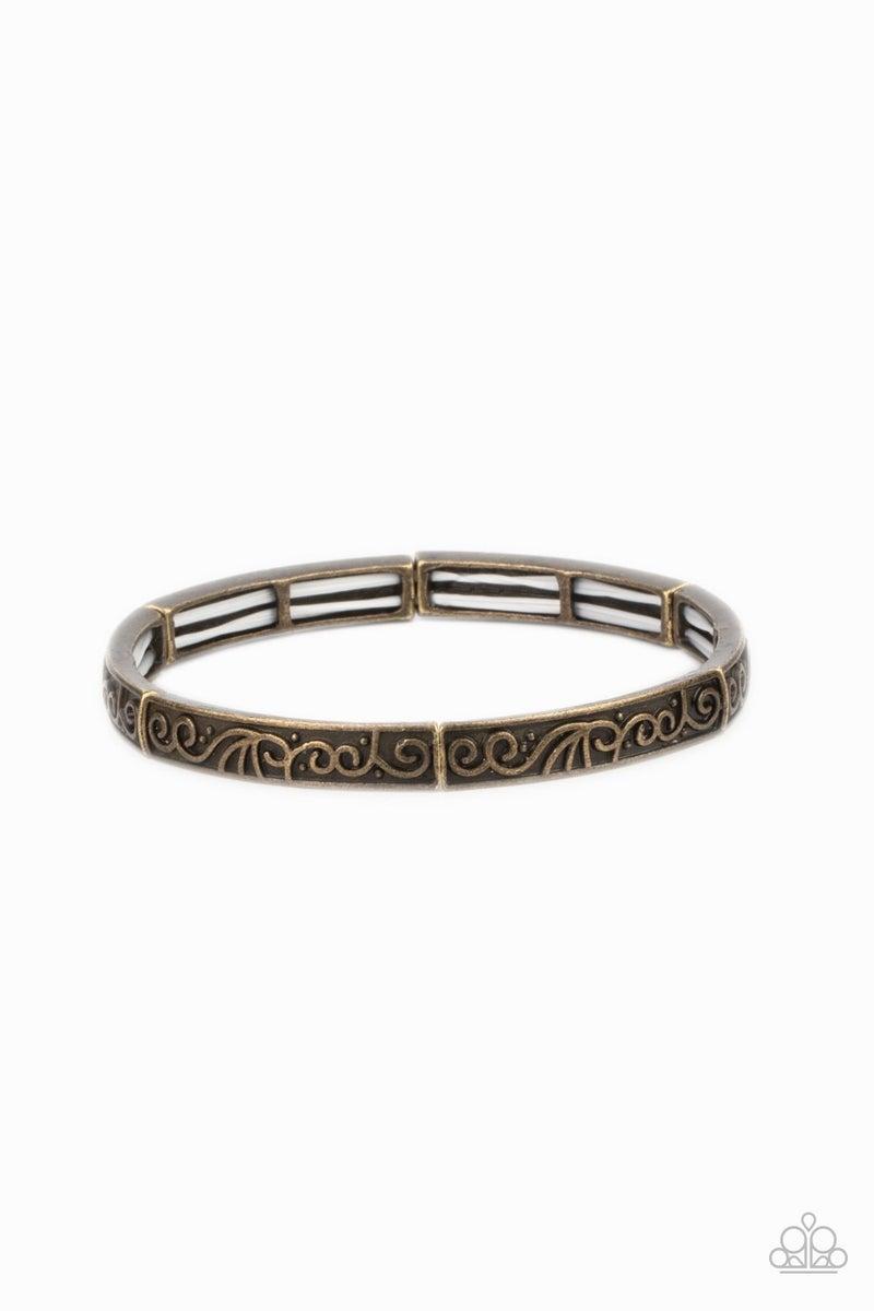 Precisely Petite Brass Bracelet - PREORDER
