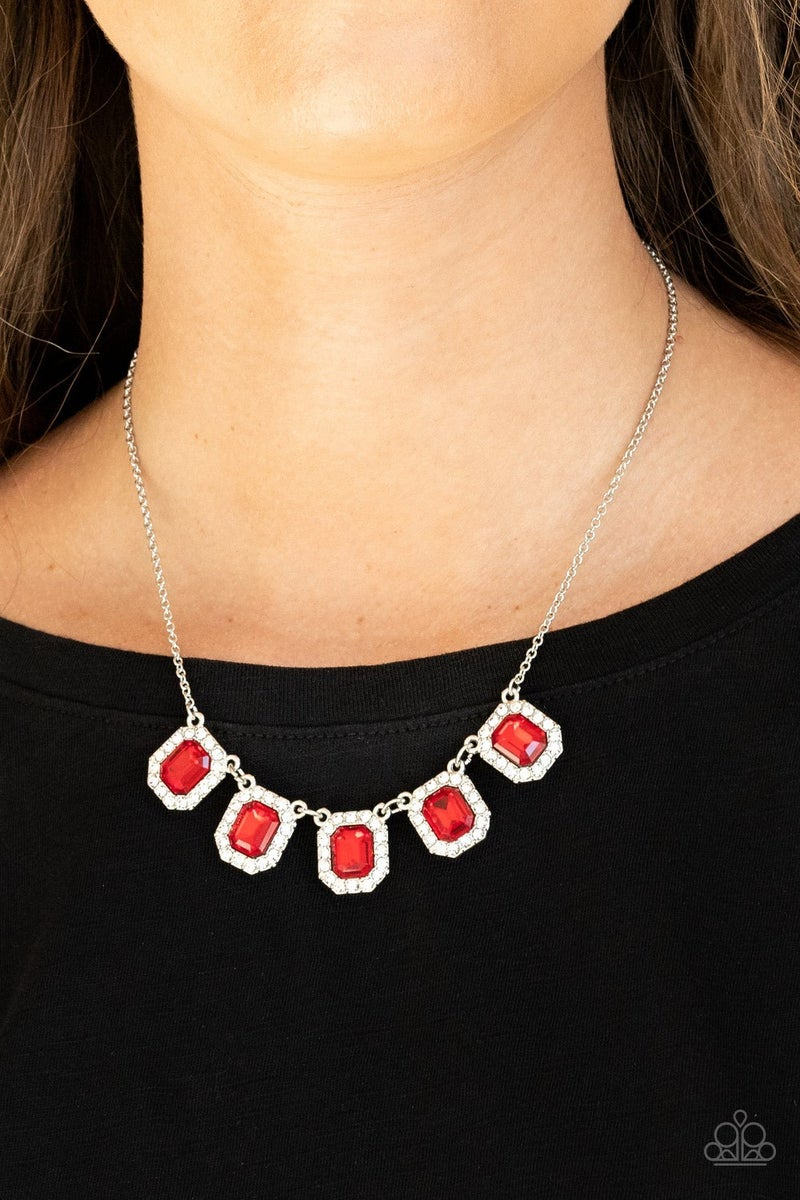 Next Level Luster Red Necklace