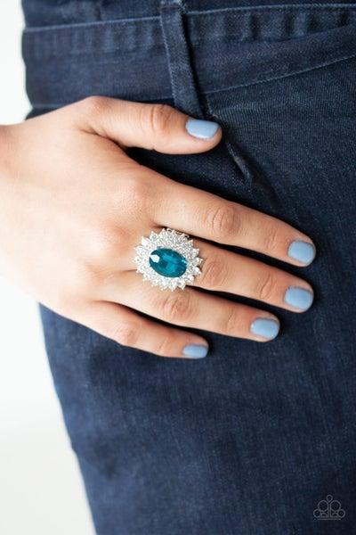 Secret Garden Glow Blue Ring
