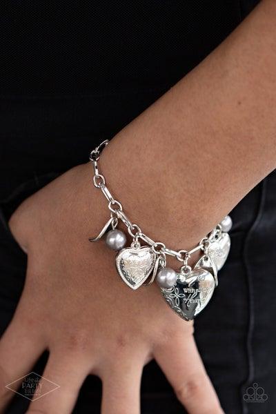 Love Will Find a Way Silver Bracelet