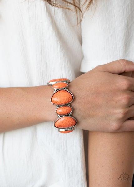 Feel the HOMESTEAD Orange Bracelet
