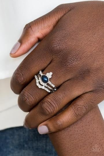 Timeless Tiaras Blue Ring
