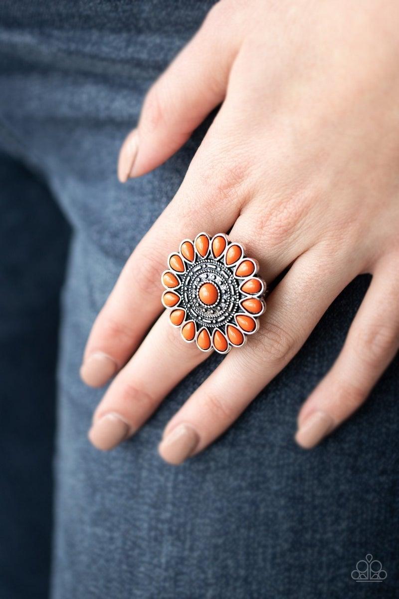 Posy Paradise Orange Ring - PREORDER
