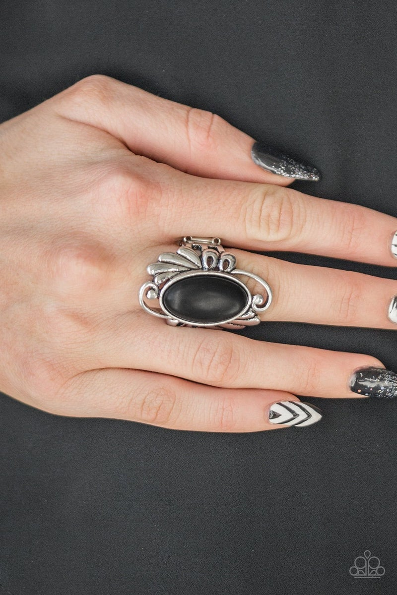 Sedona Sunset  Black Ring