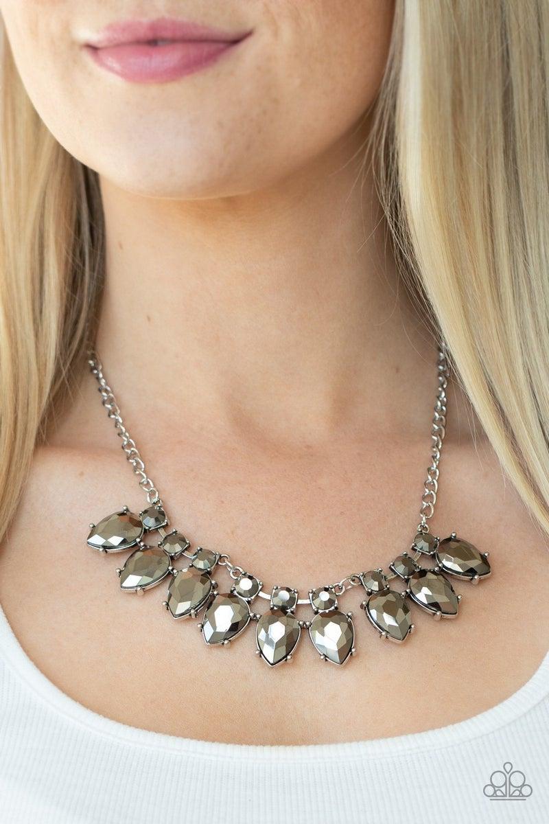 Extra Enticing  Silver Necklace
