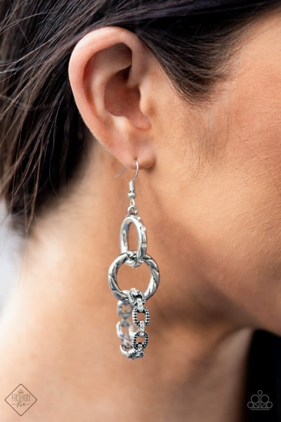 Shameless Shine White Earring - Fashion Fix