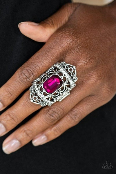 Undefinable Dazzle Pink Ring