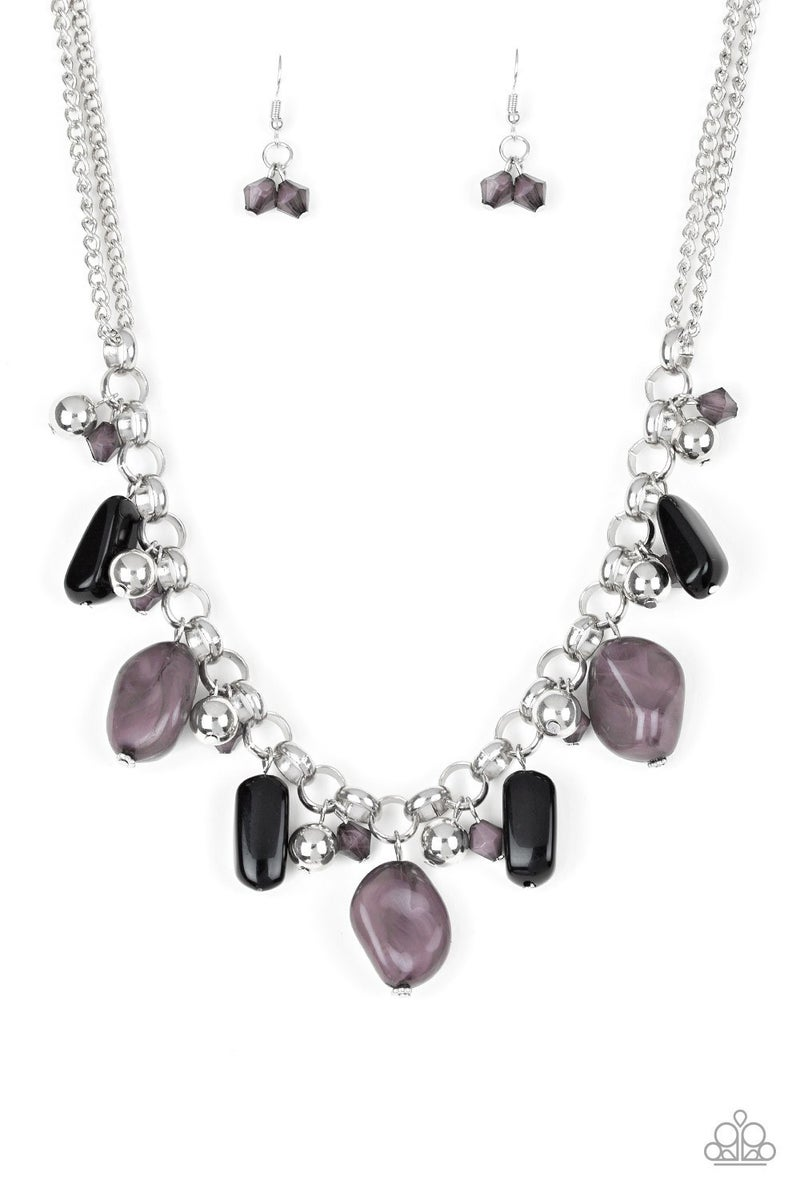 Grand Canyon Grotto Black Necklace