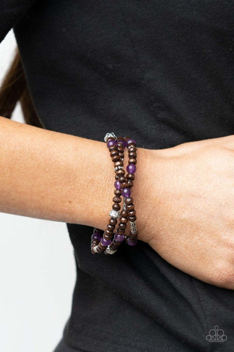 Woodsy Walkabout Purple Bracelet - PREORDER