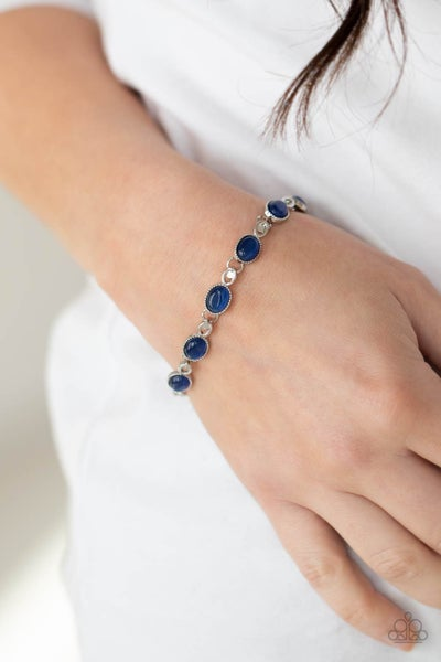 Blissfully Beaming Blue Bracelet
