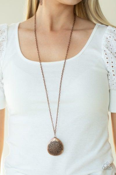 Rustic Renaissance Copper Necklace - PRECLAIM