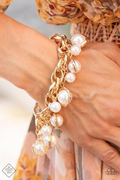 Orbiting Opulence Gold Bracelet - August FF