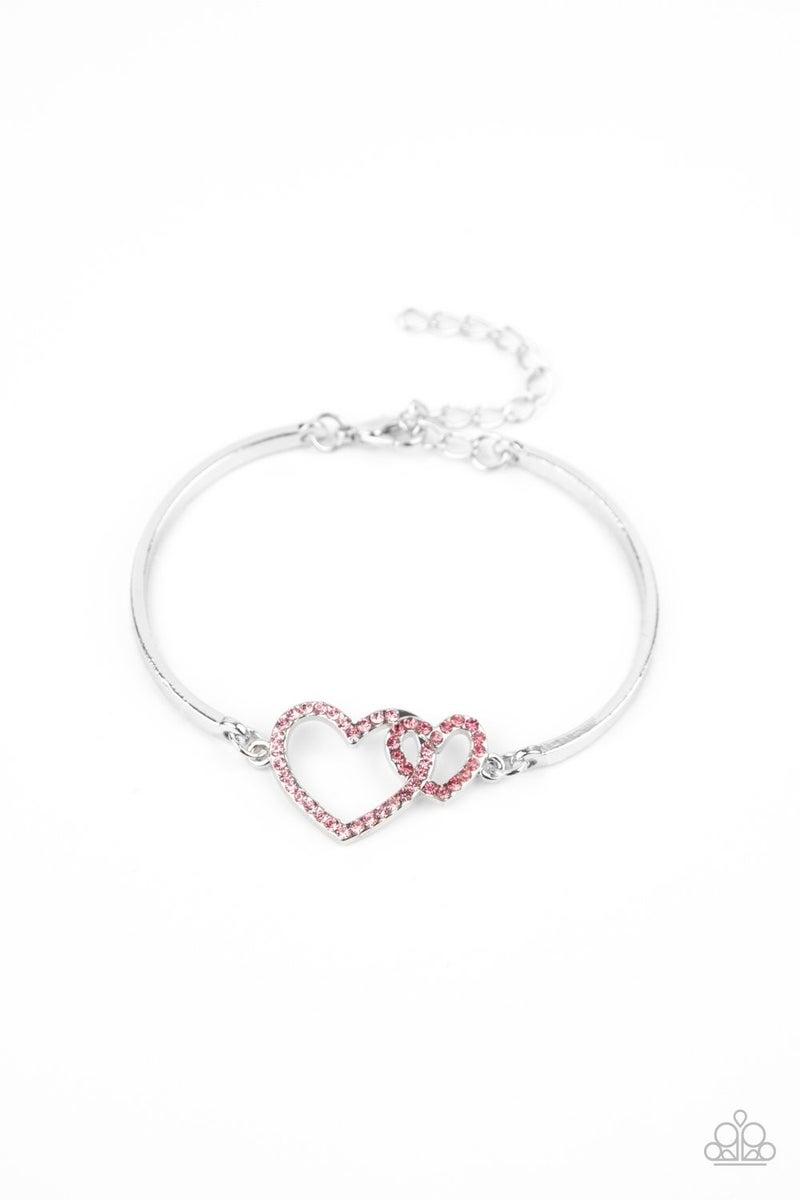 Cupid is Calling Pink Bracelet
