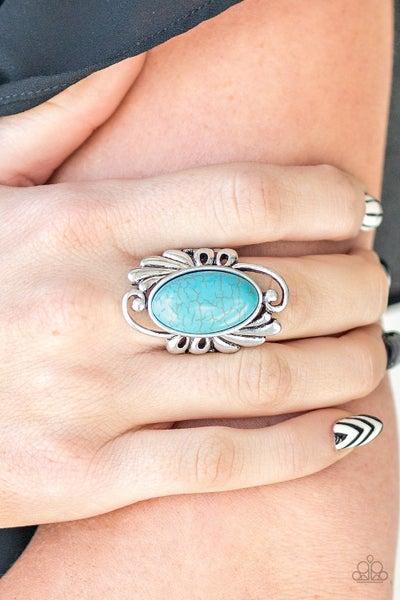 Sedona Sunset  Blue Ring