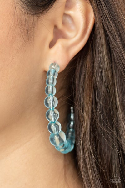 In The Clear Blue Earring - PREORDER