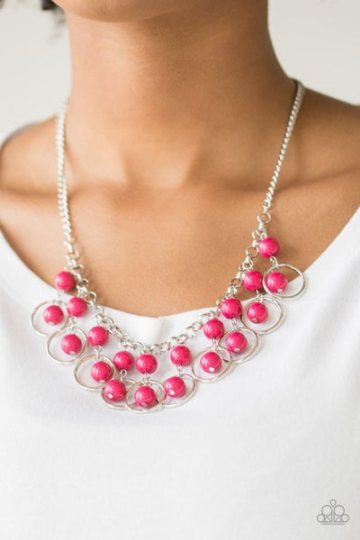 Really Rococo Pink Necklace